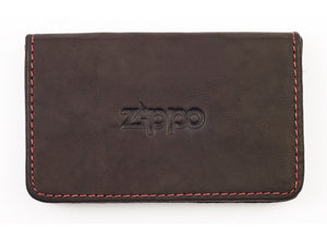 Zippo Leather Business Card Holder