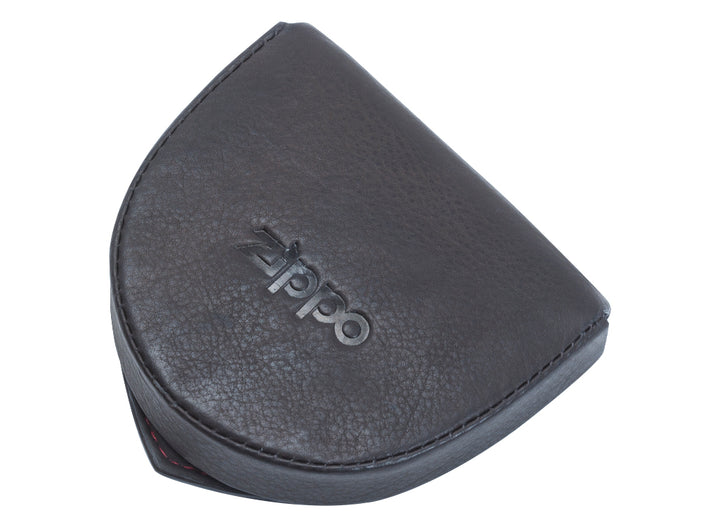Zippo Leather Coin Pouch - Mocha