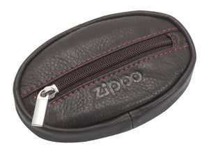 Zippo Leather Coin Purse - Mocha