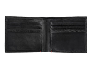 Zippo Nappa Leather Credit Card Wallet - Black