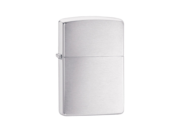 Zippo Lighter - Brushed Chrome