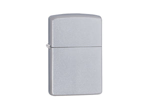 Zippo Lighter - Satin Chrome