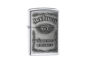 Zippo Jack Daniel's Lighter - High Polish Chrome