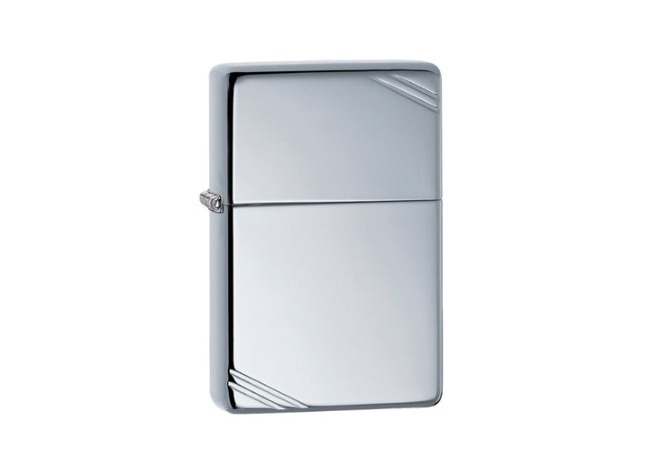 Zippo Vintage Lighter - High Polish Chrome