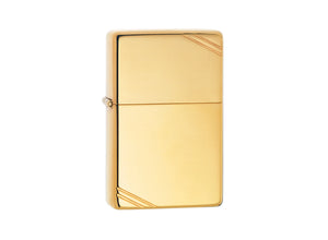 Zippo Vintage Lighter - High Polish Brass
