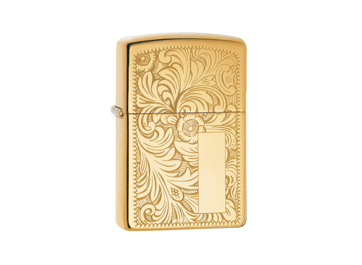 Zippo Venetian Lighter - High Polish Brass