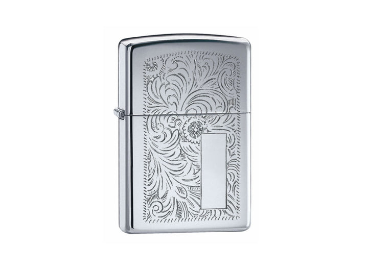 Zippo Venetian Lighter - High Polish Chrome