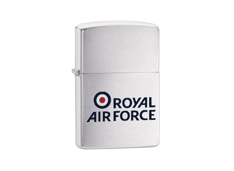 Zippo Royal Air Force Lighter - Brushed Chrome