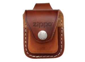 Zippo Lighter Pouch w/ Belt Loop - Brown