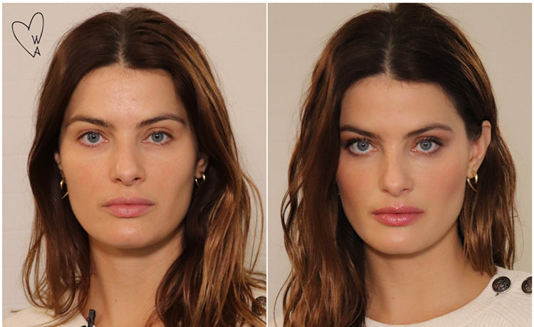 "Supermodel Isabeli Fontana Does ""Date Night"" Makeup in 5 Minutes!"