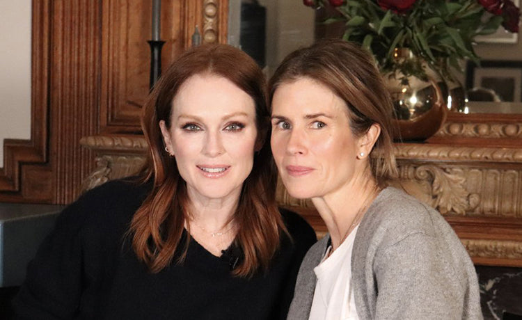 """Makeup & Friends"" with Julianne Moore! Oscar Night Confessions, Skincare Secrets, and How She Looks That Good"