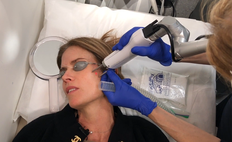 Spring Clean Your Skin! Watch Gucci Zap Dark Spots at a Top Dermatologist's Office