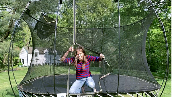 Makeup in Motion: Gucci Takes on the Trampoline