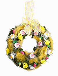 MAM Happy Easter Door Wreath
