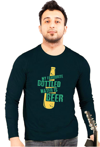 MY FAVOURITE BOTTLED BEER cotton T-Shirt