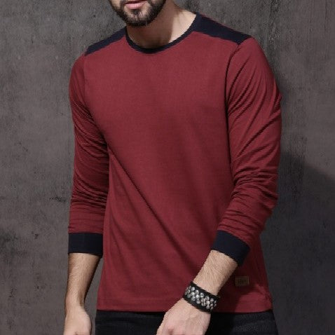 Maroon Full Sleeve Tees