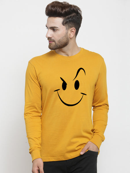 Smily Yellow Full Sleeve Tees