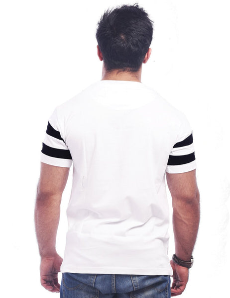 White Round Neck T-Shirt - Fcuk The Rules