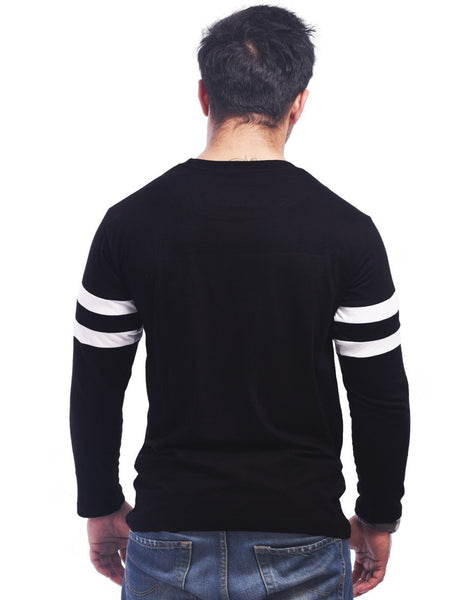 Black Round Neck T-Shirt - RULES What's that