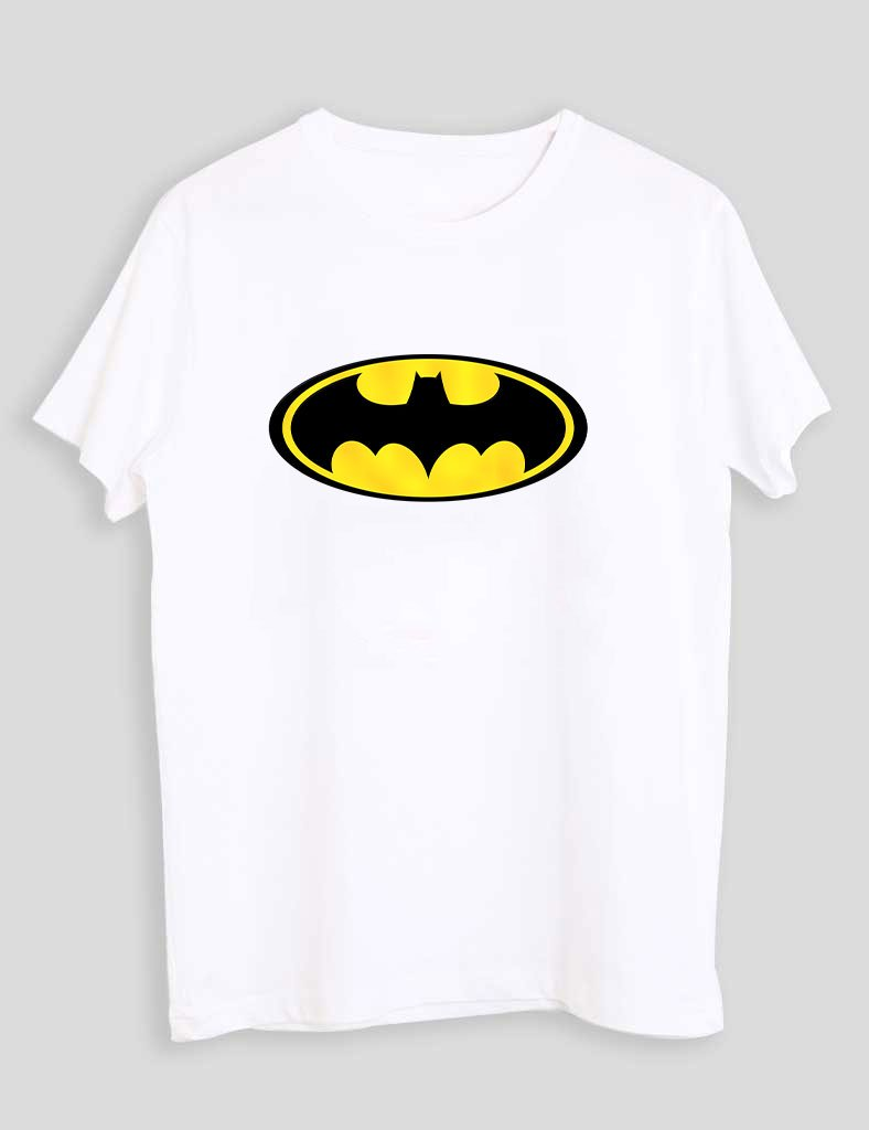 BATMEN WHITE T-SHIRT
