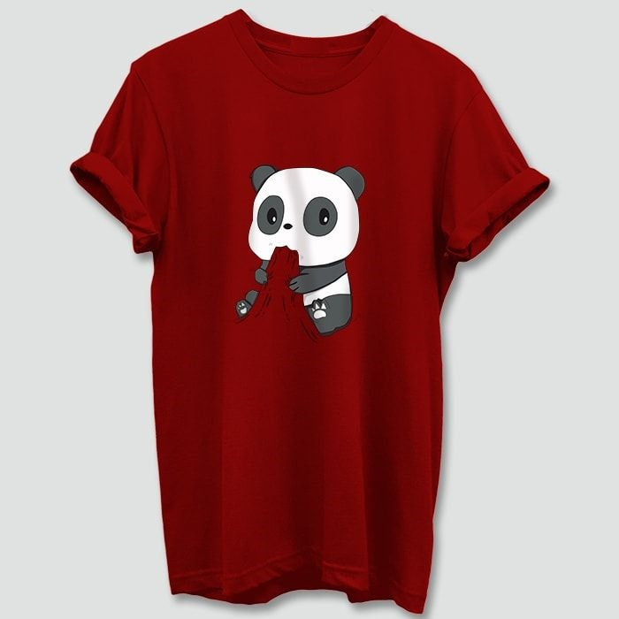 Hungry_Panda_Red_T_Shirt_Mens-Min
