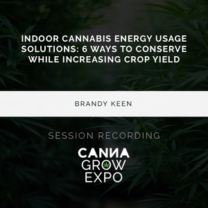 Indoor Cannabis Energy Usage Solutions:  6 Ways To Conserve While Increasing Crop Yield