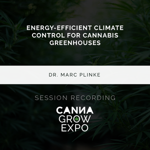 Energy-Efficient Climate Control for Cannabis Greenhouses