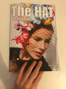 The Hat Magazine Feature front cover summer 2017