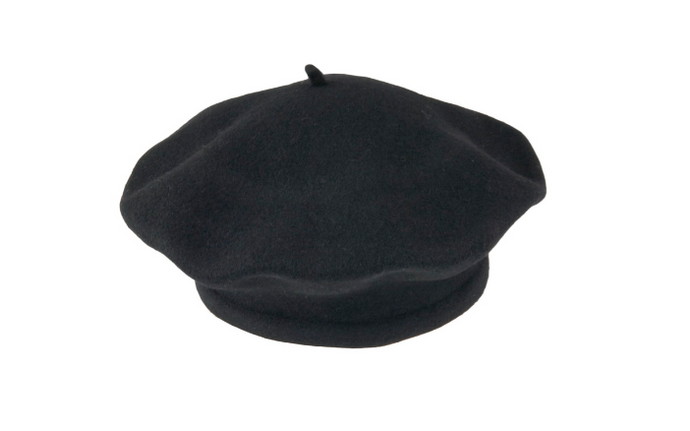 100% Pure Wool Beret