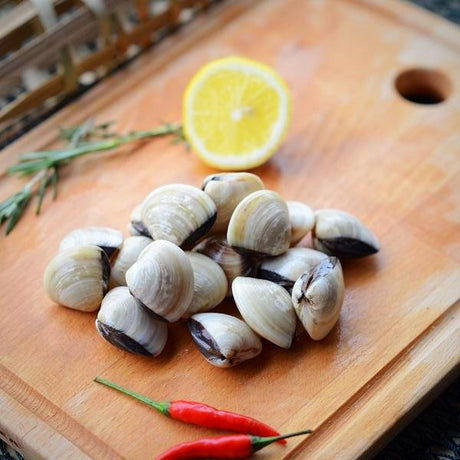 Frozen White Clam L size (Per Kg Pack)