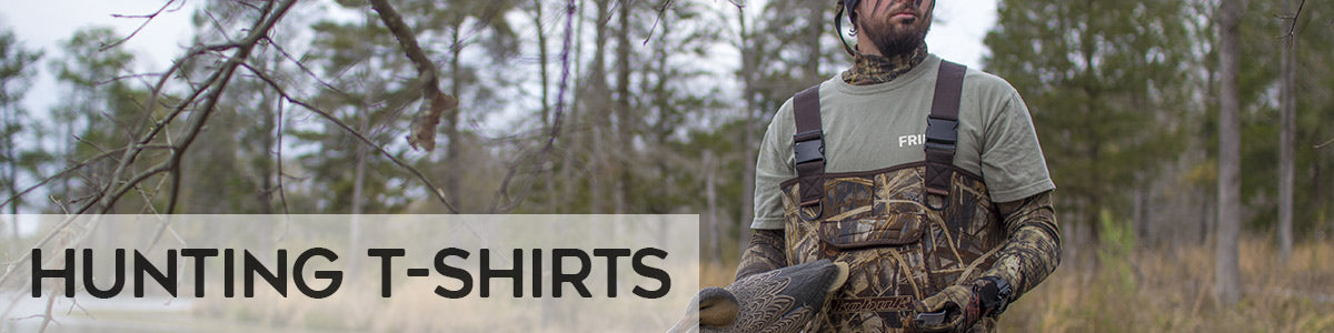 Fripp hunting t-shirts