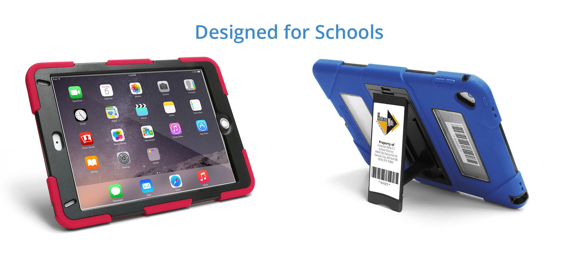 Rugged Chromebook Bags and iPad Cases for K-12 Schools