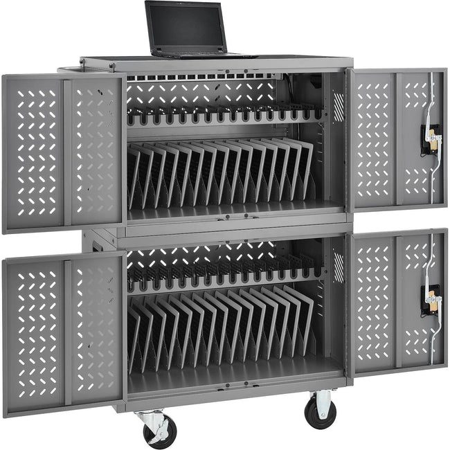 Mobile charging cart for 32 Laptops, Chromebooks, or iPads