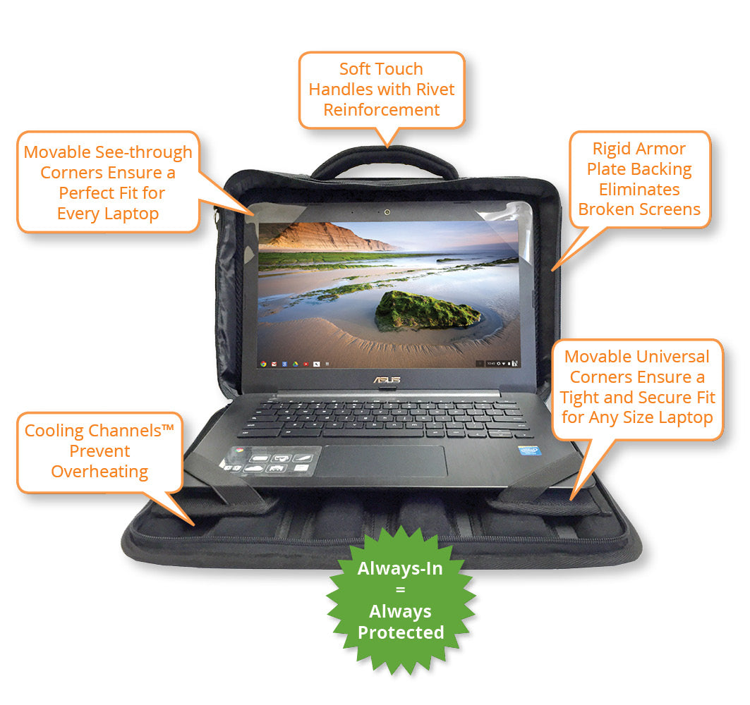 "13"" - 14"" Chromebook Bag Always-In Design G2 (Discontinued)"