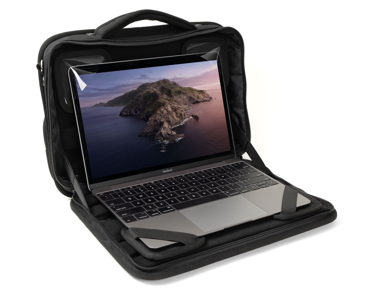 "AlumiShield Bag G4 w Compact Pouch for 11""-12"" Laptops"