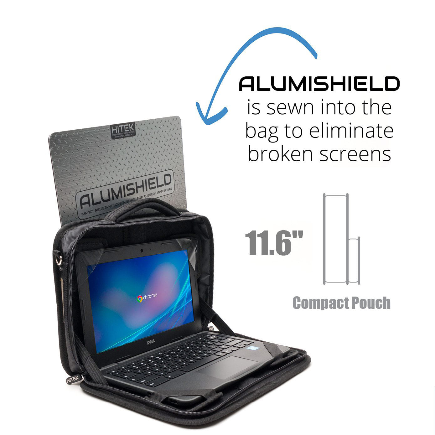 AlumiShield Rugged Laptop Bag