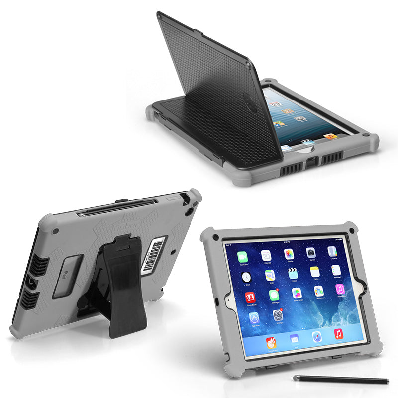 Rugged Protective Case G5 for Apple iPad (Air 1, Air 2, Mini1/2/3, and iPad 2/3/4)