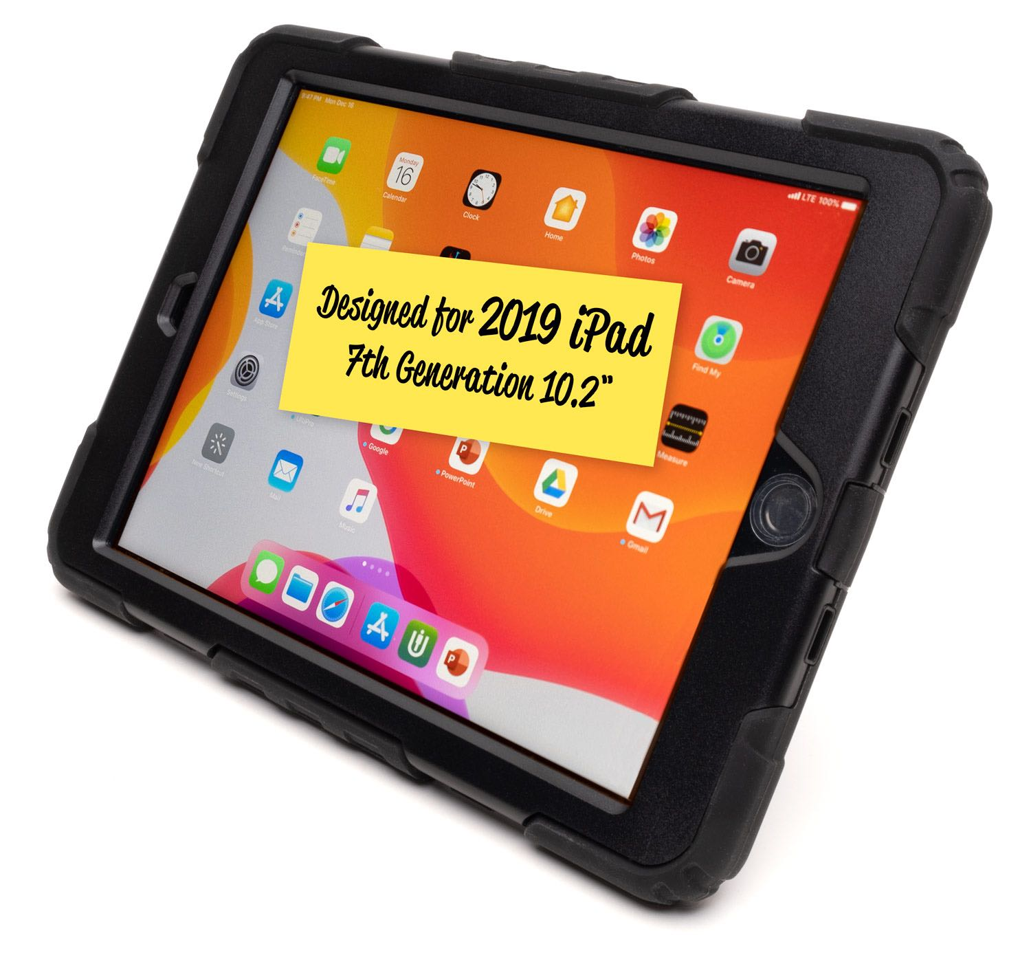 Rugged Protective Case G7 for iPad (7th + 8th Generation 10.2)