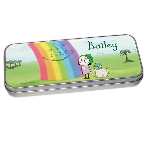 Personalised Pencil Tins