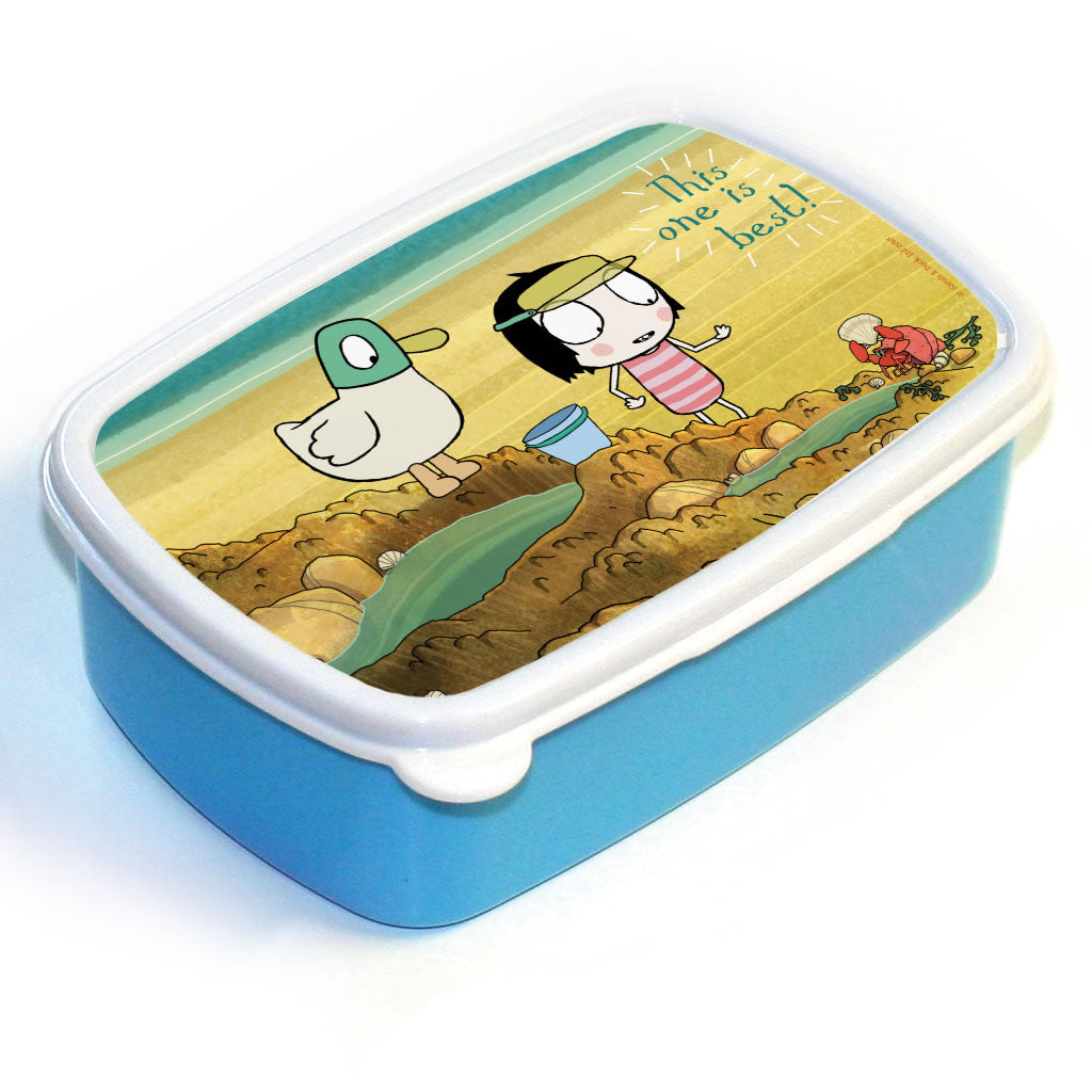 "Sarah & Duck ""this one is best"" Lunch Box"