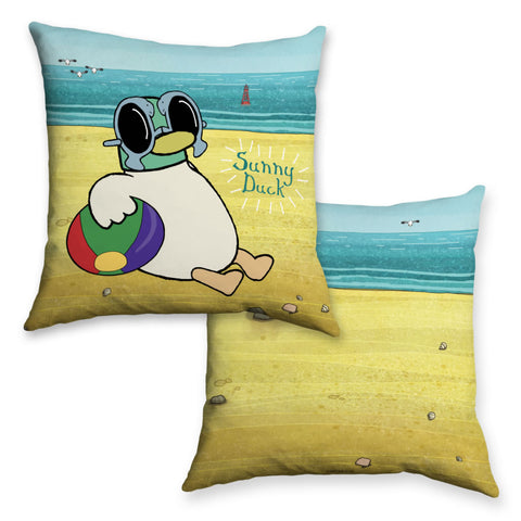 Sarah & Duck Sunny Duck Cushion