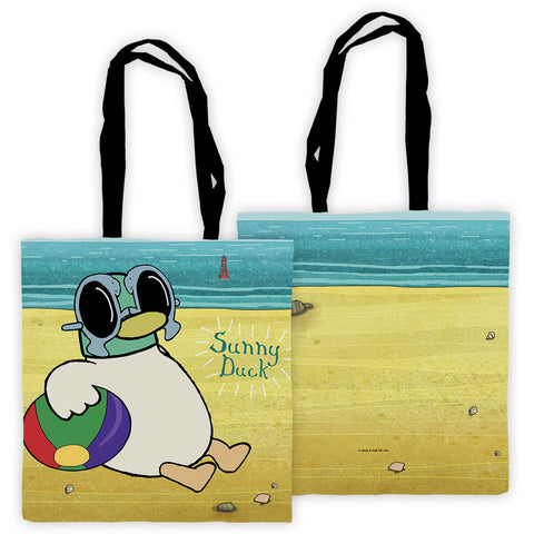 Sarah & Duck Sunny Duck Edge to Edge Tote