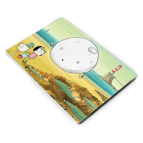Sarah & Duck Moon A5 Notepad