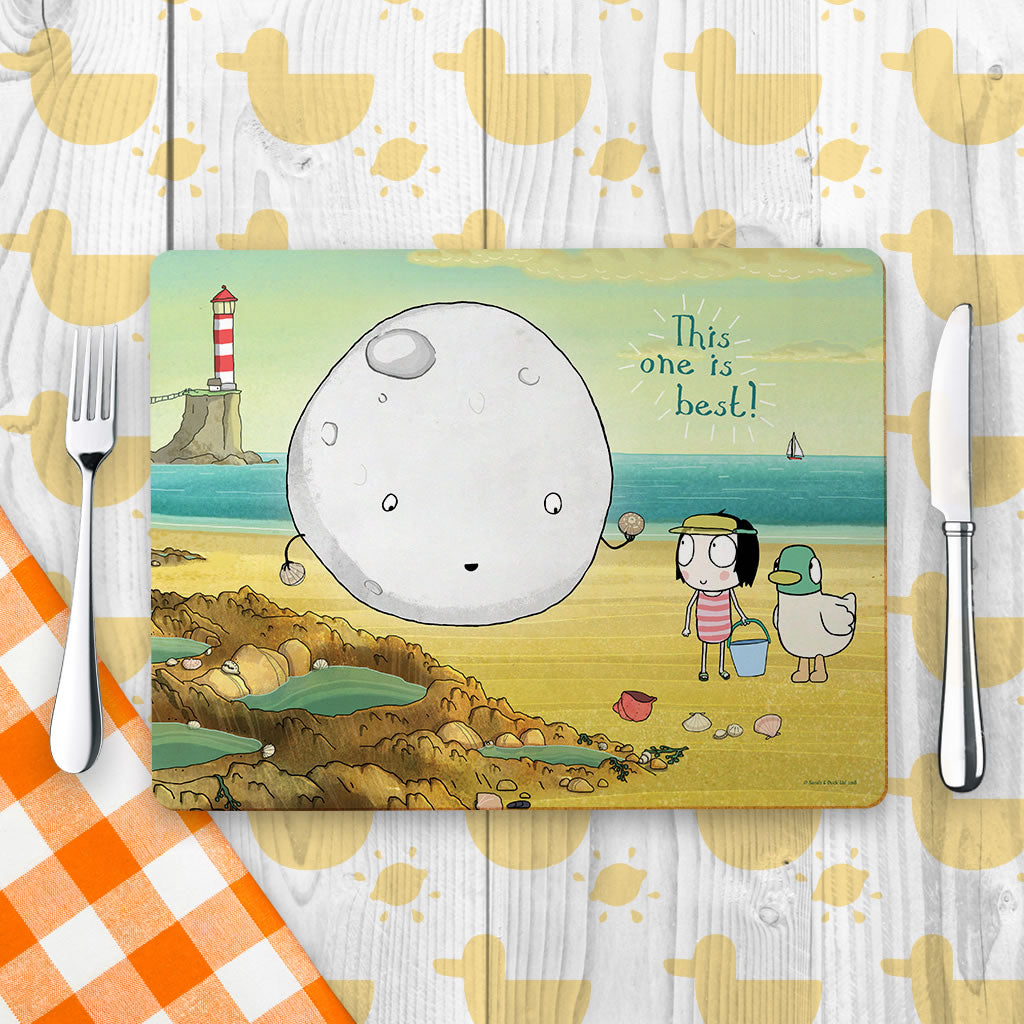 Sarah & Duck Moon Placemat (Lifestyle)