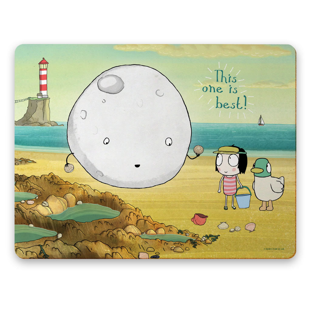 Sarah & Duck Moon Placemat