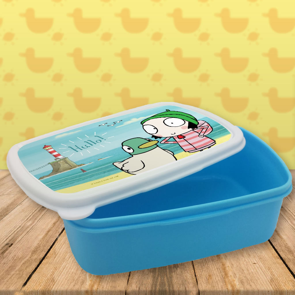Hullo! Blue Sarah and Duck Lunch Box (Lifestyle)