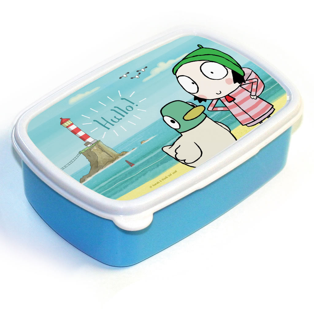 Hullo! Blue Sarah and Duck Lunch Box