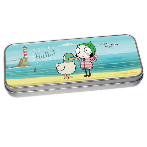 Hullo! Sarah & Duck Pencil Tin