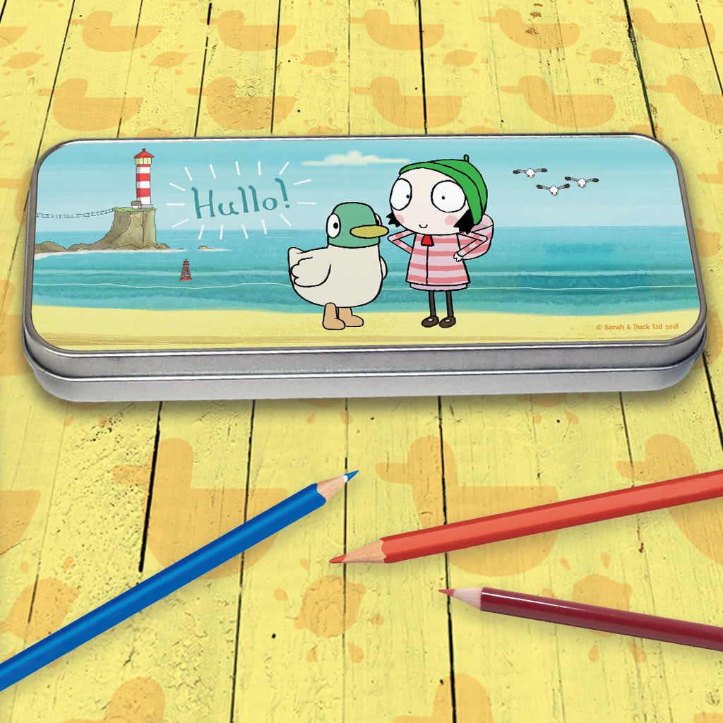 Hullo! Sarah & Duck Pencil Tin (Lifestyle)