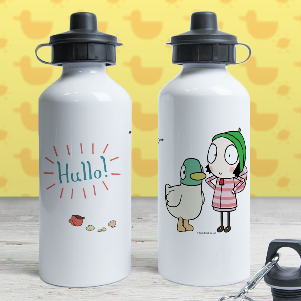 Hullo! Sarah and Duck Water Bottle (Lifestyle)